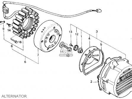 Honda Vfr700f2 Interceptor 1987 Usa parts list partsmanual