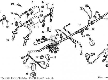Honda Vfr750f 1986 Canada / Kph Ref parts list partsmanual