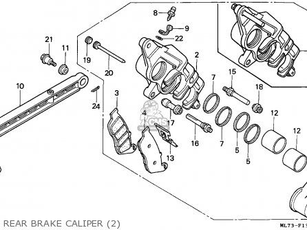 Honda Vfr750f 1989 England / Mkh parts list partsmanual