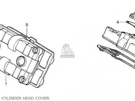 Honda Vfr750f 1991 (m) Usa California parts list
