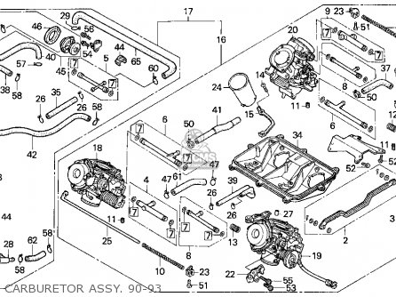 Honda Motorcycle Pet Diagram, Honda, Free Engine Image For