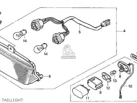 2003 Honda Shadow Spirit 750 Wiring Diagram