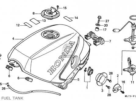 Honda Vfr750f Interceptor 1986 (g) Australia / Kmh parts
