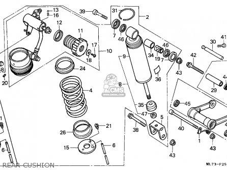 Honda VFR750F INTERCEPTOR 1986 (G) ENGLAND / MPH parts