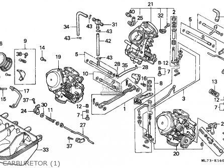 Honda VFR750F INTERCEPTOR 1986 (G) NORTHERN EUROPE / KMH