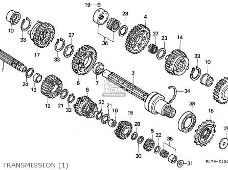 Honda Vfr 750 Engine Diagram Honda CG 125 Engine Diagram