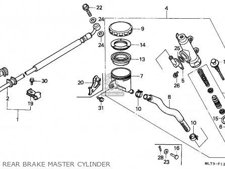 Honda VFR750F INTERCEPTOR 1988 (J) ENGLAND / MKH parts
