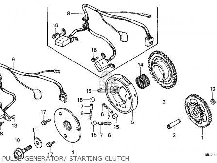 Honda VFR750F INTERCEPTOR 1989 (K) SPAIN / KPH parts lists