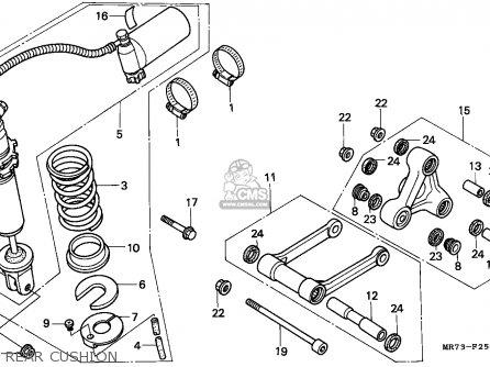 Honda VFR750R RC30 1988 (J) ITALY parts lists and schematics