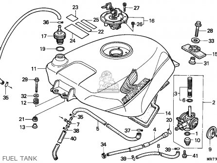 Honda VFR750R RC30 1988 (J) SPAIN parts lists and schematics