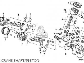 Honda Vfr750r Rc30 1989 (k) England parts list partsmanual