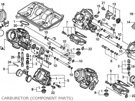 Honda Vfr750r Rc30 1989 (k) European Direct Sales parts