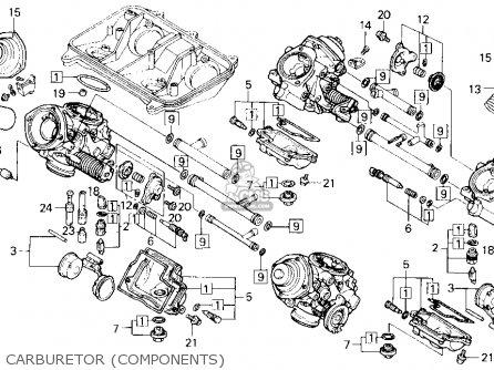 Honda VFR750R RC30 1990 (L) USA CALIFORNIA parts lists and