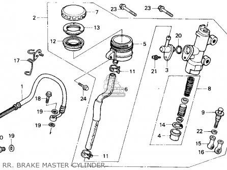 Honda Vfr750r Rc30 Usa parts list partsmanual partsfiche