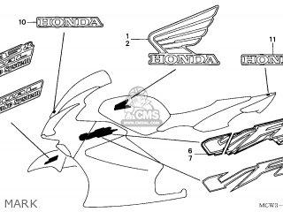 Honda VFR800 2002 (2) AUSTRALIA parts lists and schematics