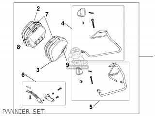 Honda VFR800 2004 (4) FRANCE parts lists and schematics