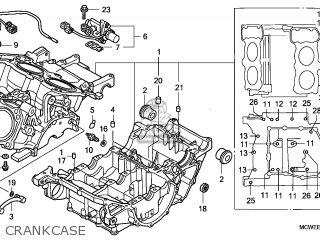 Honda VFR800 2006 (6) ENGLAND parts lists and schematics