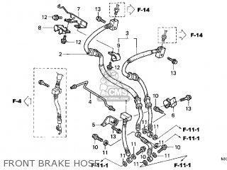 Honda VFR800 INTERCEPTOR 2004 (4) CALIFORNIA parts lists