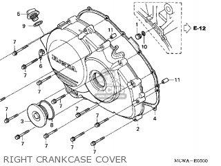 Honda VFR800 INTERCEPTOR 2006 (6) CALIFORNIA parts lists