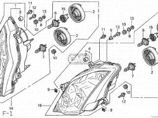 Honda VFR800A 2007 (7) JAPAN RC46-160 parts lists and