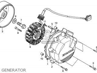 Honda VFR800FI 1998 (W) AUSTRALIA parts lists and schematics