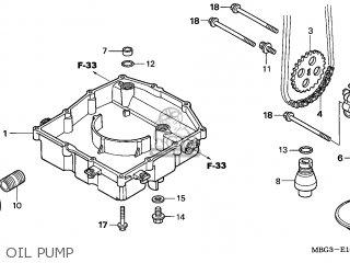 Honda Vfr800fi 1999 (x) England parts list partsmanual