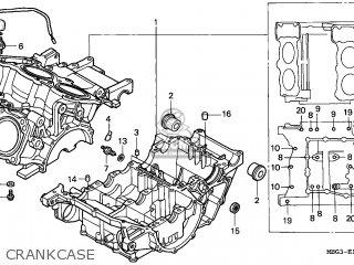 Honda Vfr800fi 1999 (x) France parts list partsmanual