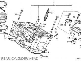 Honda VFR800FI 1999 (X) FRANCE / 50T parts lists and