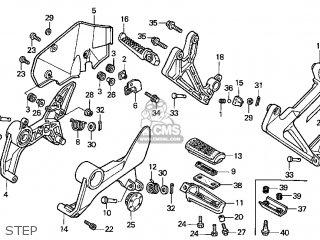 Honda VFR800FI INTERCEPTOR 1999 (X) USA CALIFORNIA parts