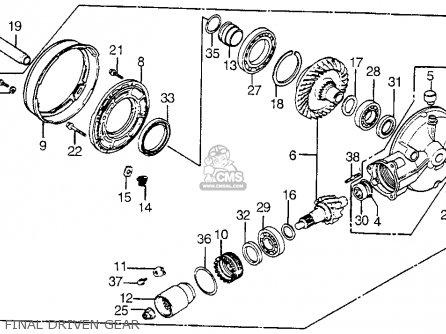 Honda VT1100C SHADOW 1100 1985 (F) USA CALIFORNIA parts