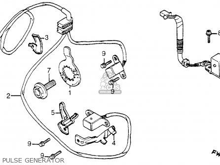 Honda Vt1100c Shadow 1100 1985 Usa parts list partsmanual