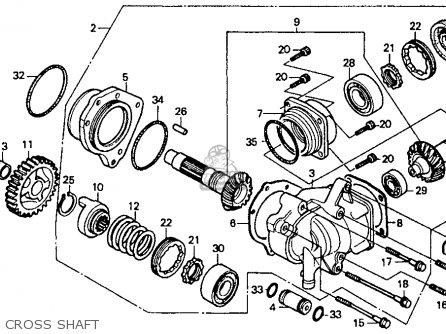 Honda Vt1100c Shadow 1100 1988 (j) Usa parts list