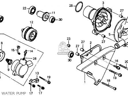 Honda Vt1100c Shadow 1100 1992 (n) California parts list