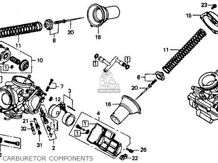 Honda Vt1100c Shadow 1100 1992 Usa parts list partsmanual