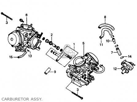 Honda VT1100C SHADOW 1100 1994 (R) USA CALIFORNIA parts