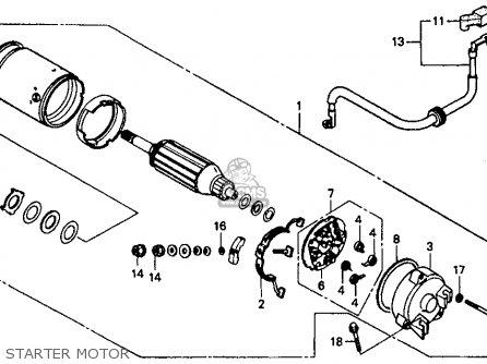 Honda Vt1100c Shadow 1100 1994 Usa parts list partsmanual