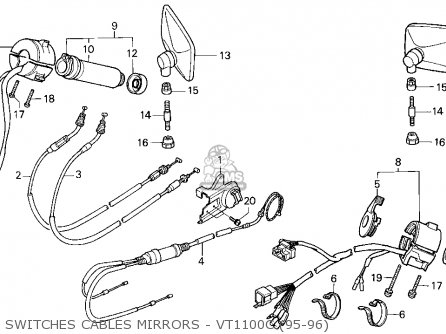 Vt1100c Honda Shadow Wiring Diagram. Honda. Wiring Diagram
