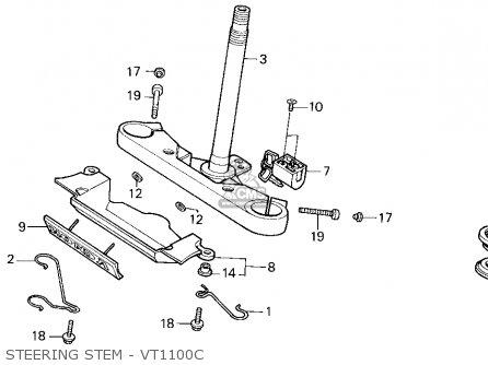 Honda Vt1100c Shadow 1100 1996 (t) Usa California parts