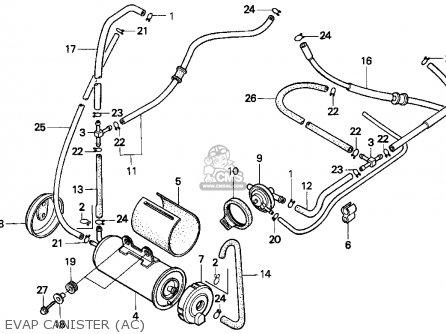 Honda Vt1100c Shadow 1100 1996 Usa parts list partsmanual