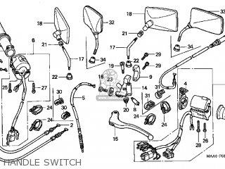 Honda Vt1100c Shadow 1100 1998 (w) Usa parts list