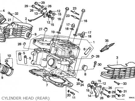 Honda Vt1100c Shadow 1988 Germany / Kph parts list