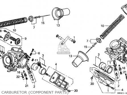 Honda Vt1100c Shadow 1988 (j) Canada / Kph parts list