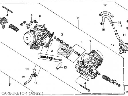 Yamaha V Star 1100 Engine Diagram, Yamaha, Free Engine