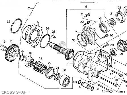 Honda Vt1100c Shadow 1993 (p) Canada parts list