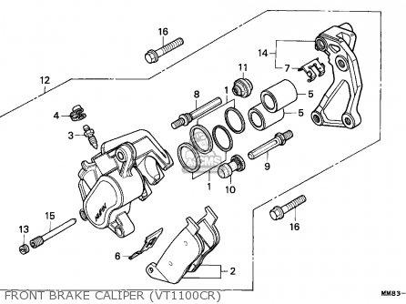 Honda VT1100C SHADOW 1994 (R) AUSTRIA / KPH parts lists