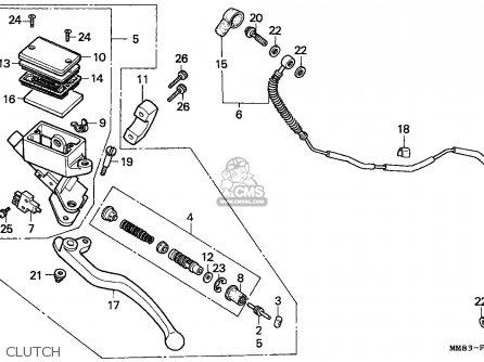 Honda VT1100C SHADOW 1994 (R) CANADA / KPH parts lists and
