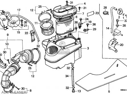 Honda VT1100C SHADOW 1994 (R) FRANCE / KPH parts lists and