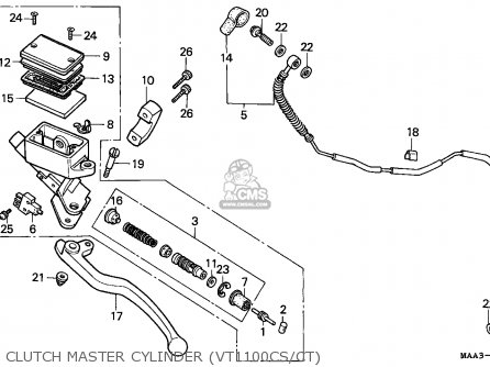 Honda VT1100C SHADOW 1995 (S) AUSTRIA / ASV RBM parts