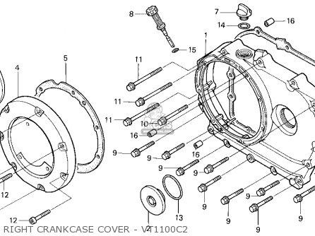 1986 Honda Vt1100 Shadow Fuse Box Location 1986 Honda