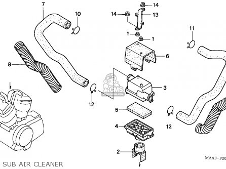 2004 Honda Shadow Aero 750 Wiring Diagram